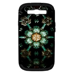 Kaleidoscope With Bits Of Colorful Translucent Glass In A Cylinder Filled With Mirrors Samsung Galaxy S Iii Hardshell Case (pc+silicone)