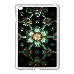 Kaleidoscope With Bits Of Colorful Translucent Glass In A Cylinder Filled With Mirrors Apple Ipad Mini Case (white)