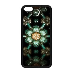 Kaleidoscope With Bits Of Colorful Translucent Glass In A Cylinder Filled With Mirrors Apple Iphone 5c Seamless Case (black)