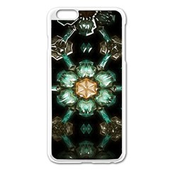 Kaleidoscope With Bits Of Colorful Translucent Glass In A Cylinder Filled With Mirrors Apple Iphone 6 Plus/6s Plus Enamel White Case