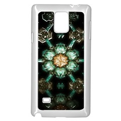 Kaleidoscope With Bits Of Colorful Translucent Glass In A Cylinder Filled With Mirrors Samsung Galaxy Note 4 Case (white)