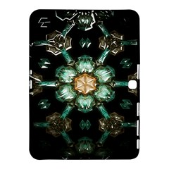 Kaleidoscope With Bits Of Colorful Translucent Glass In A Cylinder Filled With Mirrors Samsung Galaxy Tab 4 (10 1 ) Hardshell Case