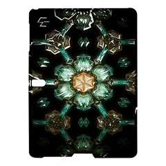 Kaleidoscope With Bits Of Colorful Translucent Glass In A Cylinder Filled With Mirrors Samsung Galaxy Tab S (10 5 ) Hardshell Case