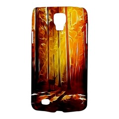 Artistic Effect Fractal Forest Background Galaxy S4 Active by Simbadda