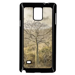 Ceiba Tree At Dry Forest Guayas District   Ecuador Samsung Galaxy Note 4 Case (black) by dflcprints