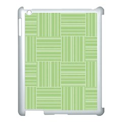 Pattern Apple Ipad 3/4 Case (white) by Valentinaart