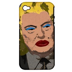 Happy Birthday Mr  President  Apple Iphone 4/4s Hardshell Case (pc+silicone) by Valentinaart