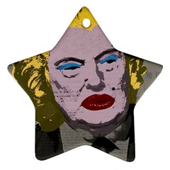 Happy Birthday Mr  President  Star Ornament (two Sides) by Valentinaart