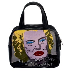 Happy Birthday Mr  President  Classic Handbags (2 Sides) by Valentinaart