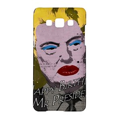 Happy Birthday Mr  President  Samsung Galaxy A5 Hardshell Case  by Valentinaart