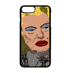 Happy Birthday Mr  President  Apple Iphone 7 Plus Seamless Case (black) by Valentinaart