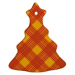 Pattern Ornament (christmas Tree)  by Valentinaart