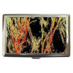 Artistic Effect Fractal Forest Background Cigarette Money Cases by Simbadda