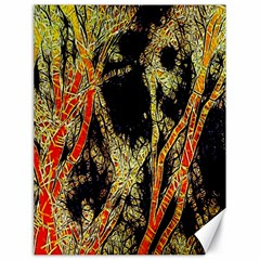 Artistic Effect Fractal Forest Background Canvas 18  X 24   by Simbadda