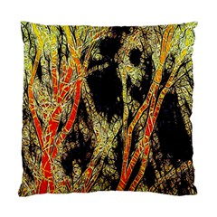 Artistic Effect Fractal Forest Background Standard Cushion Case (two Sides) by Simbadda