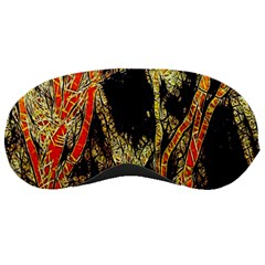 Artistic Effect Fractal Forest Background Sleeping Masks by Simbadda