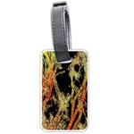 Artistic Effect Fractal Forest Background Luggage Tags (One Side)  Front