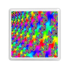 Digital Rainbow Fractal Memory Card Reader (square)