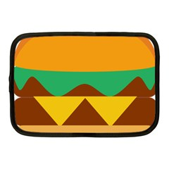 Hamburger Bread Food Cheese Netbook Case (medium)  by Simbadda