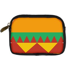 Burger Bread Food Cheese Vegetable Digital Camera Cases