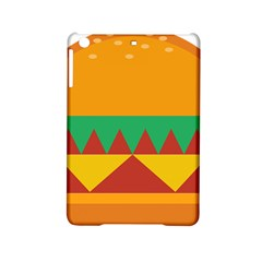 Burger Bread Food Cheese Vegetable Ipad Mini 2 Hardshell Cases by Simbadda