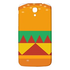 Burger Bread Food Cheese Vegetable Samsung Galaxy Mega I9200 Hardshell Back Case