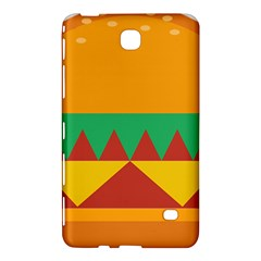 Burger Bread Food Cheese Vegetable Samsung Galaxy Tab 4 (7 ) Hardshell Case