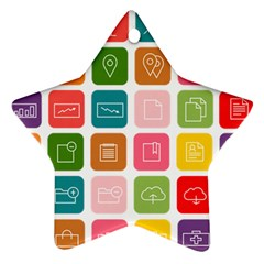 Icons Vector Ornament (star) by Simbadda