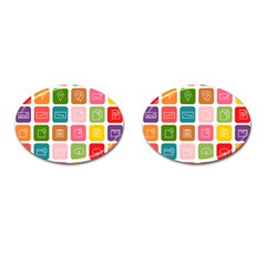Icons Vector Cufflinks (oval) by Simbadda
