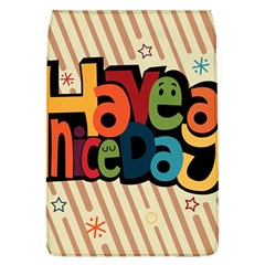 Have A Nice Happiness Happy Day Flap Covers (l)  by Simbadda