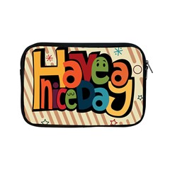 Have A Nice Happiness Happy Day Apple Ipad Mini Zipper Cases by Simbadda