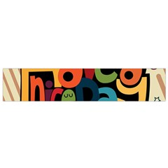 Have A Nice Happiness Happy Day Flano Scarf (small) by Simbadda