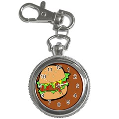 Burger Double Key Chain Watches