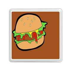 Burger Double Memory Card Reader (square)  by Simbadda