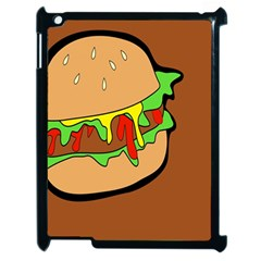 Burger Double Apple Ipad 2 Case (black) by Simbadda