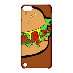 Burger Double Apple Ipod Touch 5 Hardshell Case With Stand by Simbadda