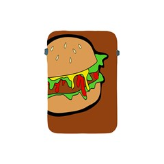 Burger Double Apple Ipad Mini Protective Soft Cases by Simbadda