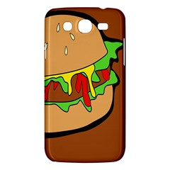 Burger Double Samsung Galaxy Mega 5 8 I9152 Hardshell Case  by Simbadda