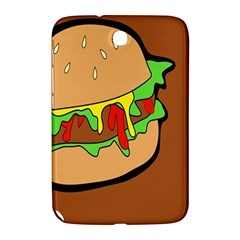 Burger Double Samsung Galaxy Note 8 0 N5100 Hardshell Case  by Simbadda