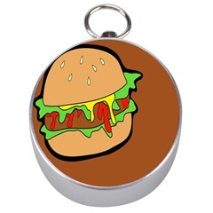 Burger Double Silver Compasses by Simbadda