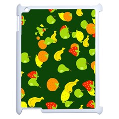Seamless Tile Background Abstract Apple Ipad 2 Case (white) by Simbadda