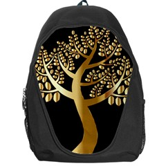 Abstract Art Floral Forest Backpack Bag