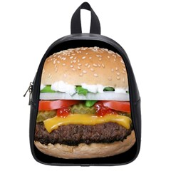 Abstract Barbeque Bbq Beauty Beef School Bags (small)  by Simbadda