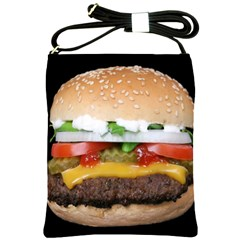 Abstract Barbeque Bbq Beauty Beef Shoulder Sling Bags