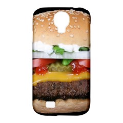 Abstract Barbeque Bbq Beauty Beef Samsung Galaxy S4 Classic Hardshell Case (pc+silicone) by Simbadda