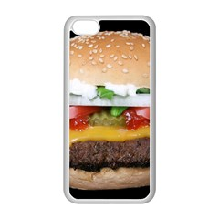 Abstract Barbeque Bbq Beauty Beef Apple Iphone 5c Seamless Case (white)