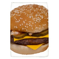 Cheeseburger On Sesame Seed Bun Flap Covers (l)