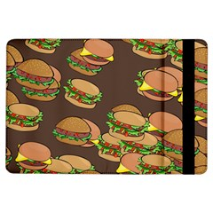 A Fun Cartoon Cheese Burger Tiling Pattern Ipad Air Flip by Simbadda