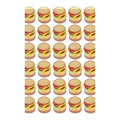 Hamburger Pattern Shower Curtain 48  X 72  (small)  by Simbadda