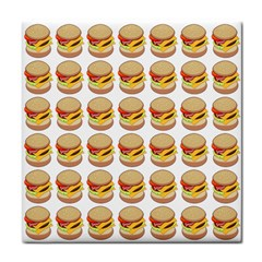 Hamburger Pattern Tile Coasters by Simbadda